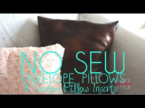Cheap Decorative Pillows Under 10 Stunning DIY No Sew Decorative Pillows Under 60 YouTube