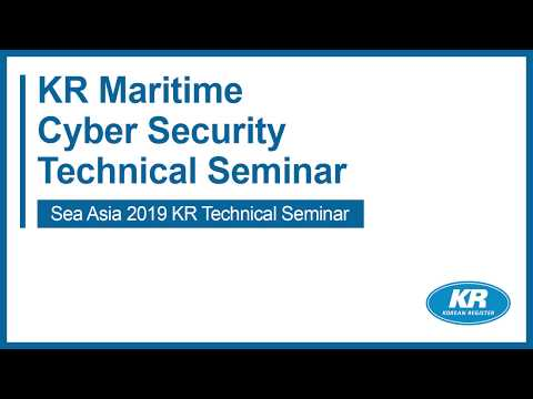 Korean Register Maritime Cyber Security Overview