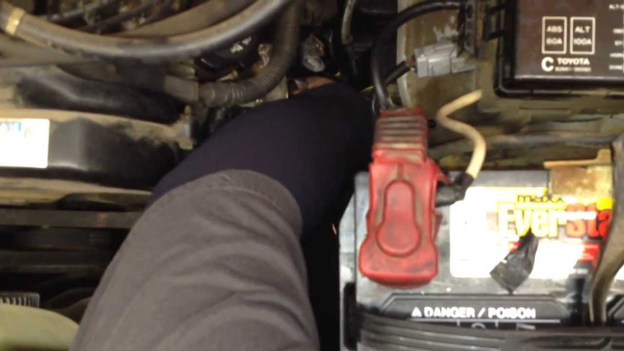 98 Toyota 4runner Alternator Part 3