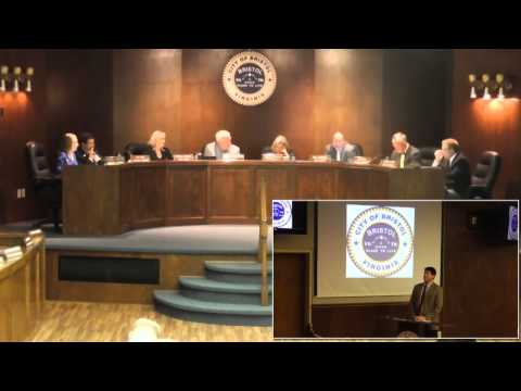 9-8-15 City of Bristol Va Council Meeting