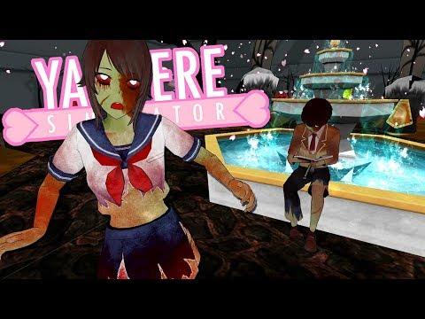 REAL ZOMBIES In Yandere Simulator!   Yandere Simulator - Zombie Mod