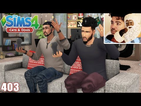 MY FAVORITE HOUSEHOLD FT. SANTA - The Sims 4: Part 403