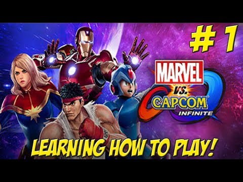 Learning to Play: Marvel vs Capcom Infinite! Part 1 -  YoVideogames