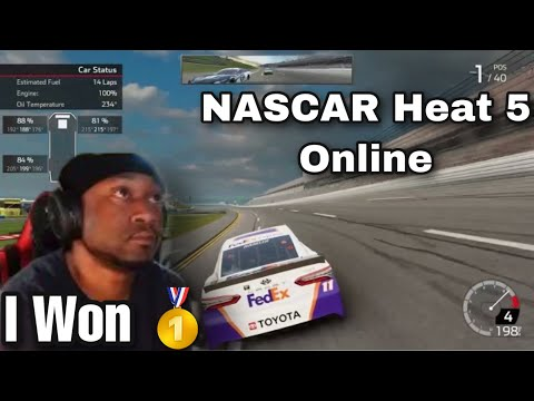 NASCAR Heat 5 On Playstation 5 Online Win |
