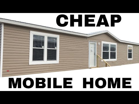 Cheap Mobile Home. 32x60 3 Bed 2 Bath Double Wide By Hamilton Homebuilders | Mobile Home Tour