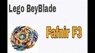 Как из лего собрать волчок Beyblade Burst Fafnir F3