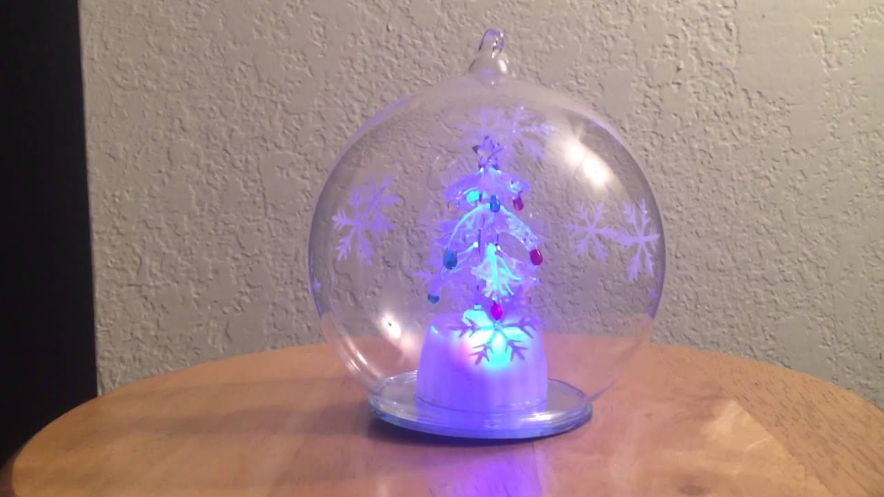 ganz light up christmas tree ornament