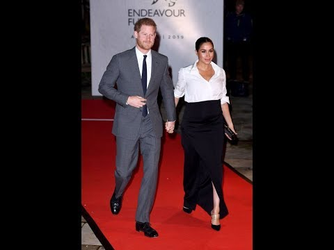 Meghan Markle Steps Out in the Most Interesting Pair of Shoes She's Ever Worn