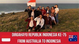 Download lagu DIRGAHAYU REPUBLIK INDONESIA KE -75   HUT RI KE-75   UPACARA DARI AUSTRALIA 🇦🇺 UNTUK INDONESIA 🇮🇩