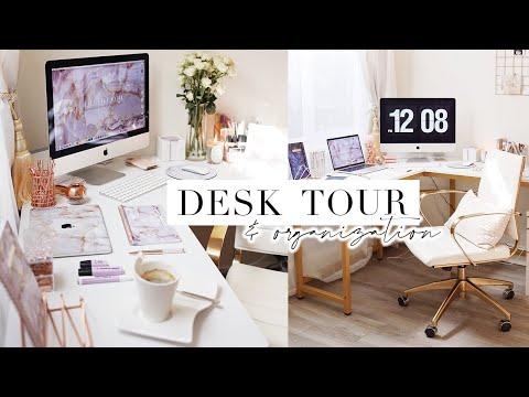 MY DESK TOUR & SETUP | Stationery Storage & Office Organization ✨