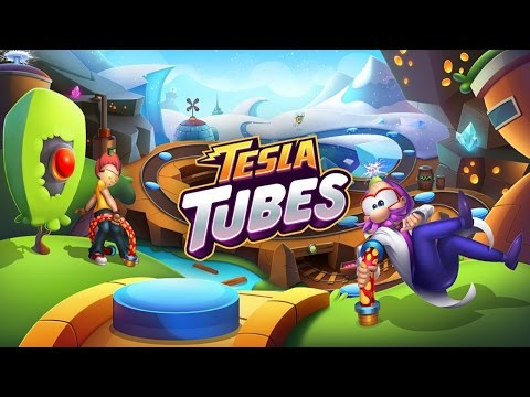 Tesla Tubes (by Kiloo) - iOS / Android - HD Gameplay Trailer