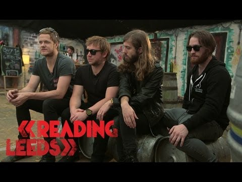 Imagine Dragons | US vs. UK Festivals | Reading & Leeds Festival 2013