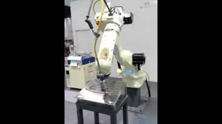 Робот сварочный аппарат(Робот сварочный аппарат в 2015 ESSEN шоу в Шанхае, просто прийти и увидеть его! E-mail: sunny@bota-weld.com; www.bota-weld.com., 2015-09-29T02:12:10.000Z)