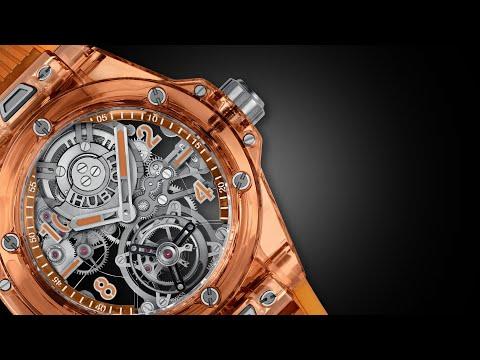 Hublot Launches New Big Bang Tourbillon Automatic Orange Sapphire