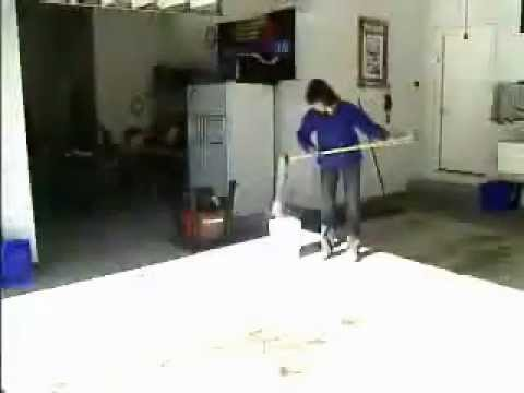 Slippery Garage Floors Cleaning Your Garage YouTube - Tile floor slippery after cleaning