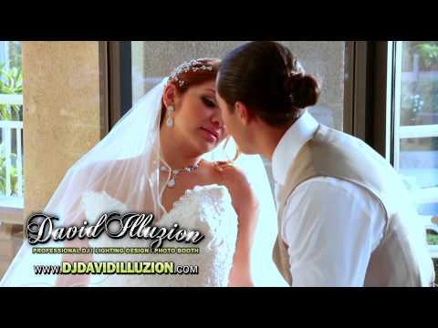 Nancy & Luis Wedding Highlights DJ David Illuzion at Bagramian Hall