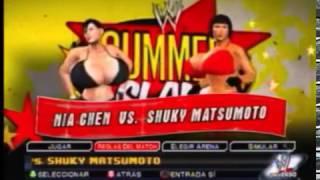 CATFIGHT IN RING NIA CHEN VS SHUKY MATSUMOTO