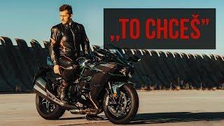 Nejsilnější motorka současnosti - Kawasaki Ninja H2 MOTOVLOG #38
