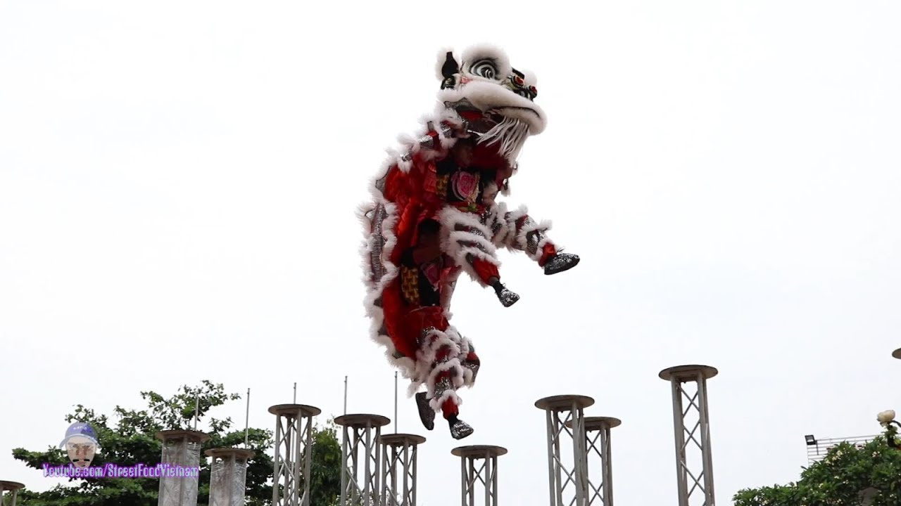 Múa Lân Lên Mai Hoa Thung - LSR Long Thiên Môn tại Lễ Hội ...