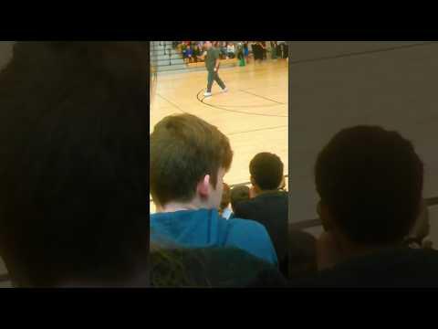 Rock Creek Middle School Teacher Dancing #1