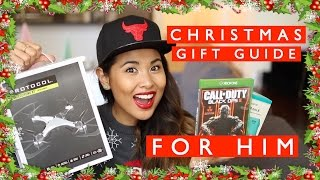 Christmas Gift Guide for Him || Sunshine Carreon