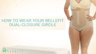 Repeat youtube video How to Wear Your Bellefit Dual-Closure Girdle