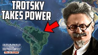 What If Trotsky Ruled A Continent?! HOI4