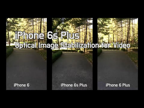 iPhone 6s Plus - optical image stabilization comparison vs iPhone 6 vs iPhone 6 Plus