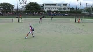 '17群馬県前橋市新人ソフトテニス大会 個人戦(準決勝)