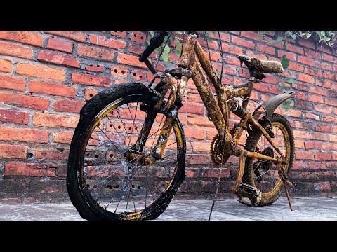 Restoration Rusty Kids Bike | Teardown Children Bicycle thumbnail