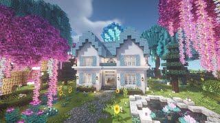 마인크래프트 건축일기 10 솜사탕 하우스 Minecra…