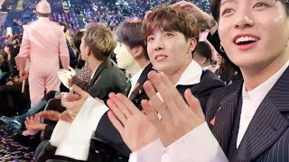 190501 방탄소년단 BTS reaction & BTS met @Billboard Music Awards