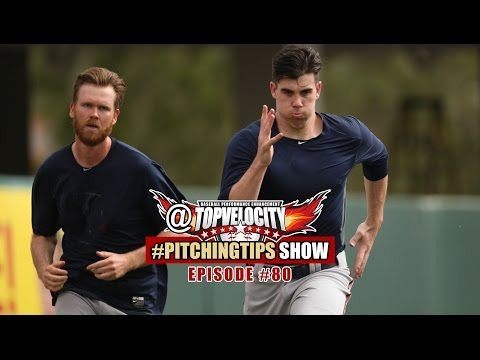 Should pitchers run or sprint for conditioning? Ep80 @Topvelocity #PitchingTips Show
