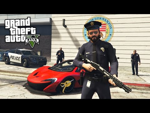 GTA 5 Real Life Mod #40 - POLICE PATROL!! (GTA 5 Mods)