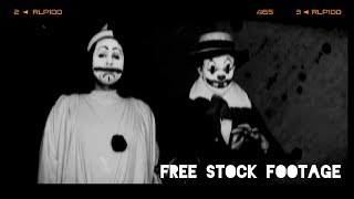 'SCARY CLOWNS' Free Stock Footage