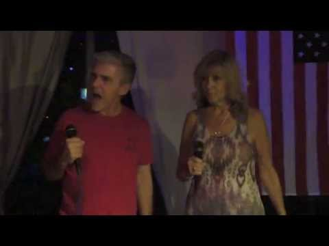 Theo LeeFabor & Lucille Matera Boccio singing The Chain KARAOKE I DO NOT OWN NO COPYRIGHT INFRINGEME