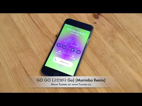 Go Go (고민보다 Go) Ringtone - BTS (방탄소년단) Tribute Marimba Remix Ringtone - For iPhone & Android