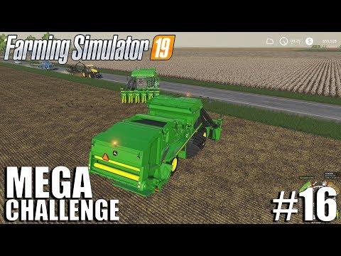 MEGA Equipment Challenge 2.0   Timelapse #16   Nebraska Map   FS19   Farming Simulator 19