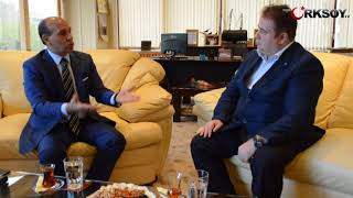 Kırgızistandaki Başarılı İş Adamı Yusuf Uğurdan Erdoğana Övgü Dolu Sözler