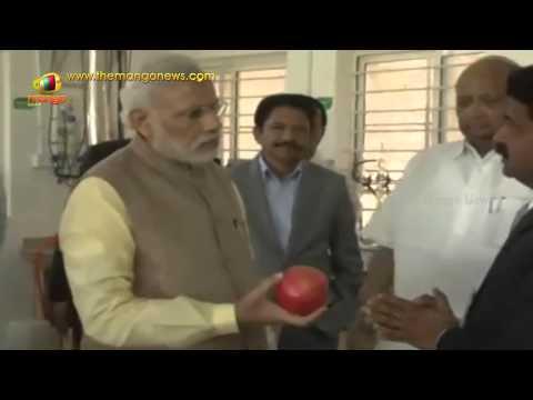 PM Modi visits Krishi Vigyan Kendra Campus of Agricultural Development Trust in Baramati