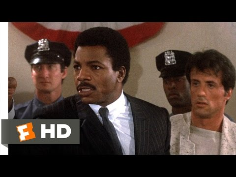Rocky IV (2/12) Movie CLIP - Press Conference Clash (1985) H