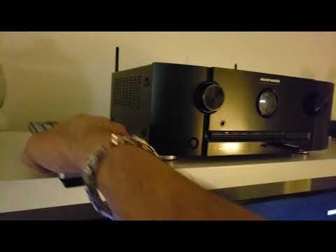 Marantz SR5013 AV receiver settings review and info.