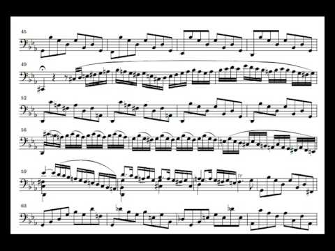 J. S. Bach Cello Suite n. 4 BWV 1010 - 1. Prelude - Piano Transcription [tbpt28]