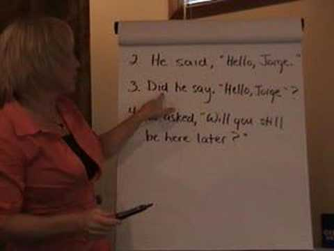48 Quotation Marks With Question Marks