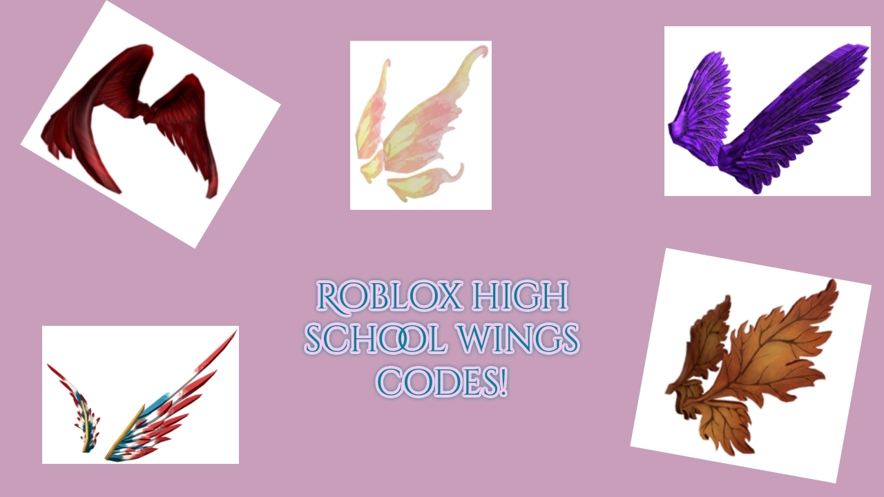 Rhs Wings Codes - cool wings codes roblox high school