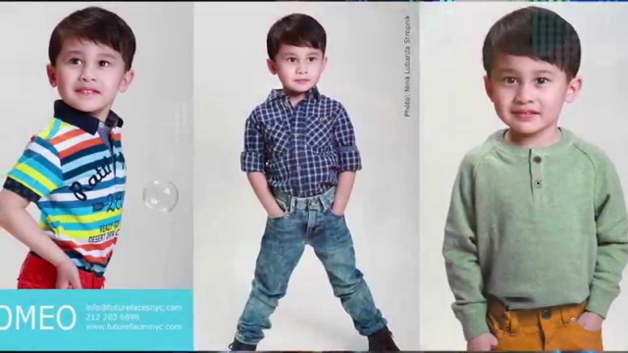 Child model Romeo, Future Faces NYC Kids Model Agency NYC - Nina Lubarda MM