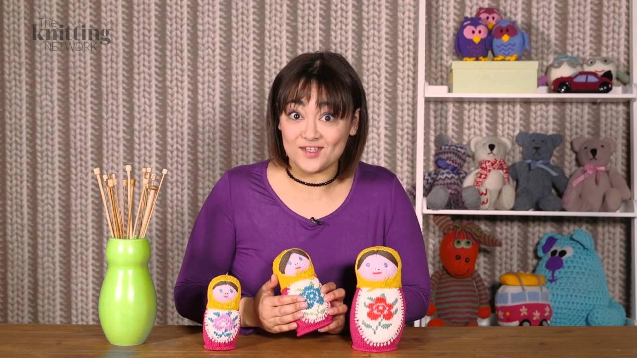 Amigurumi Russian Doll Pattern : Russian dolls set knitting pattern the knitting network wtd