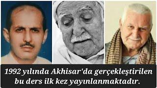 Sungur abi-Ali Uçar Abi- Çantacı Necmi Abi Akhisar Ortak Ders-1992-