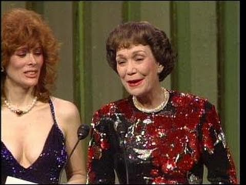 Jane Wyman Wins Best Actress TV Series Drama - Golden Globes 1984