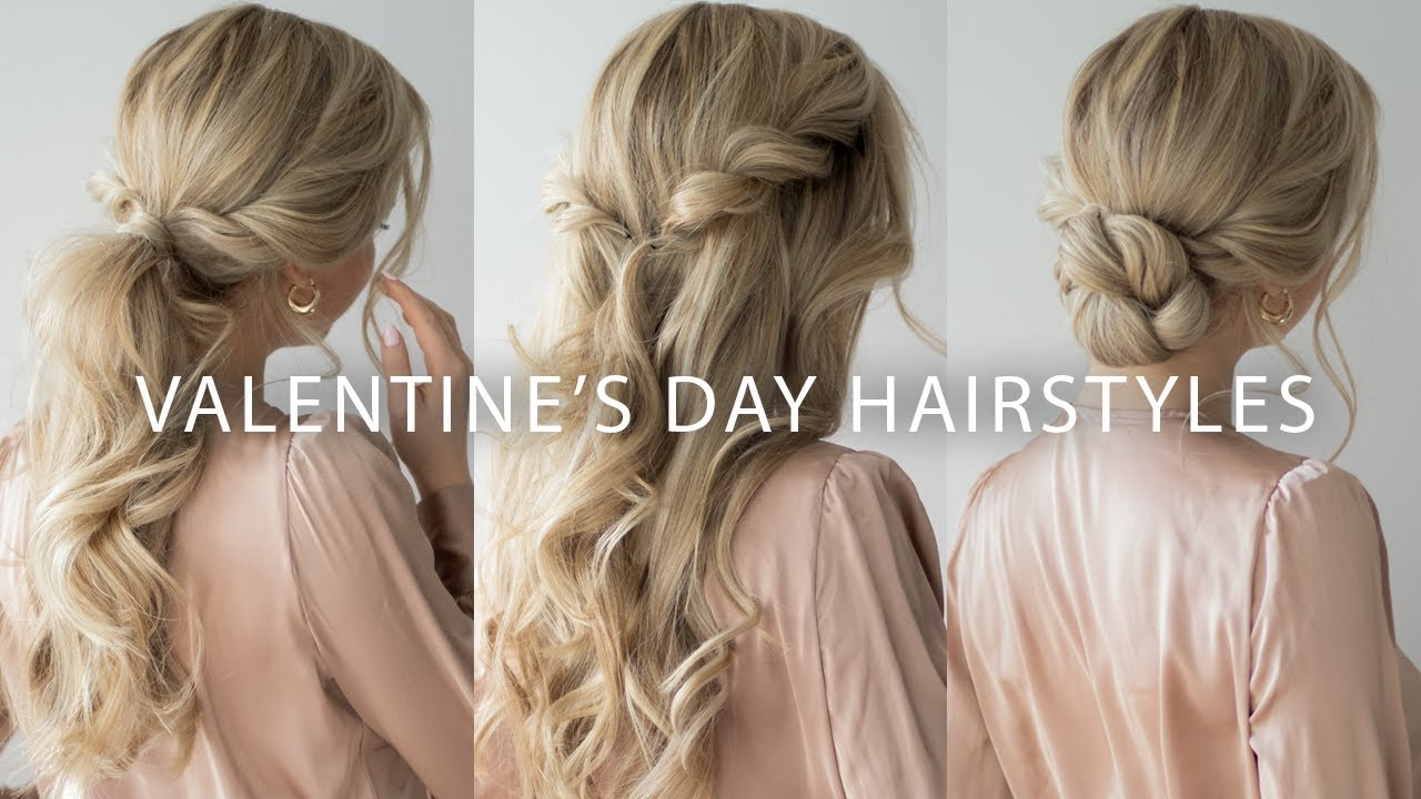 EASY VALENTINE'S DAY HAIRSTYLES 2020